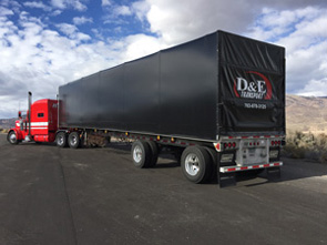 Flatbed Trucking Company Photos - D&E Transport, Inc